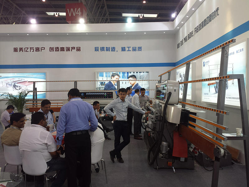 control straight manual SUNKON Brand glass straight line beveling machine factory