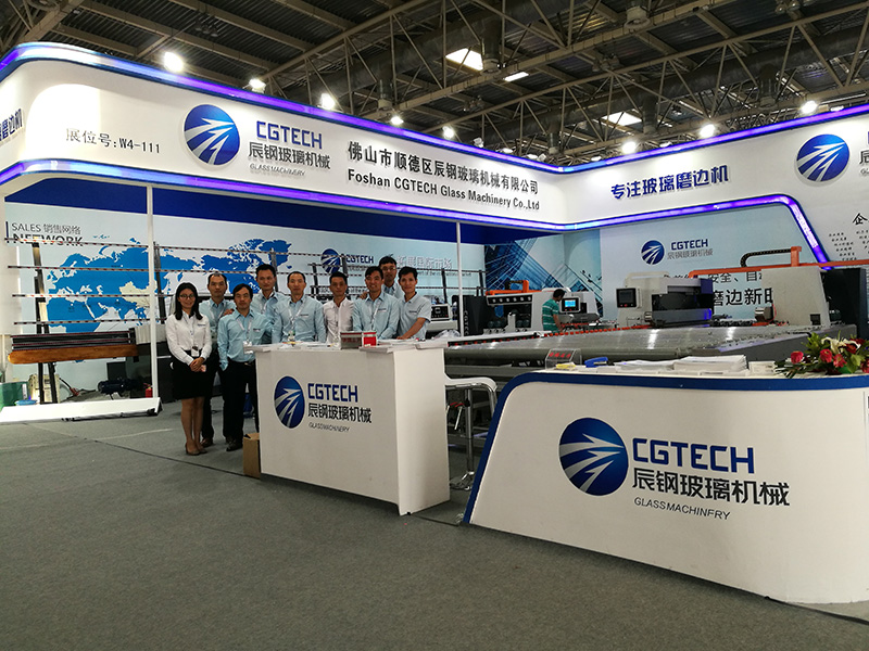 CGZ9325P 9 Motors Glass Straight Line Edging Machine with PLC Control-17