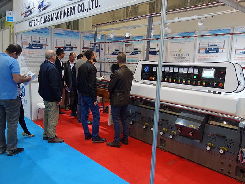 CGZ9325P 9 Motors Glass Straight Line Edging Machine with PLC Control-23
