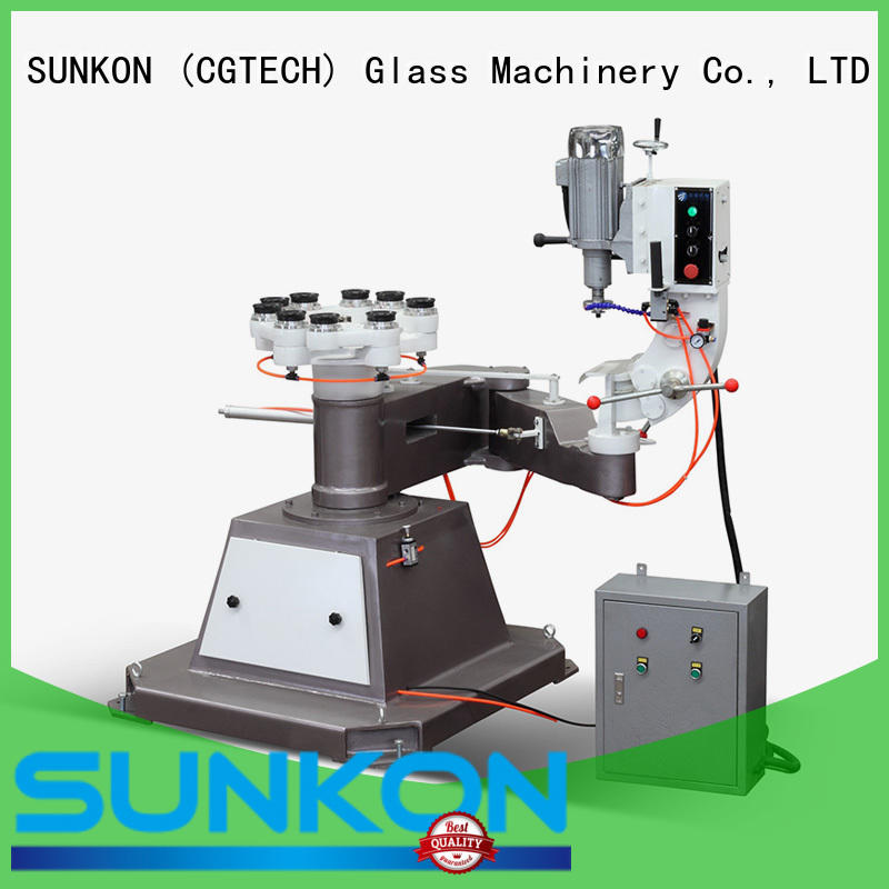 SUNKON glass grinding machine price outer shape edging