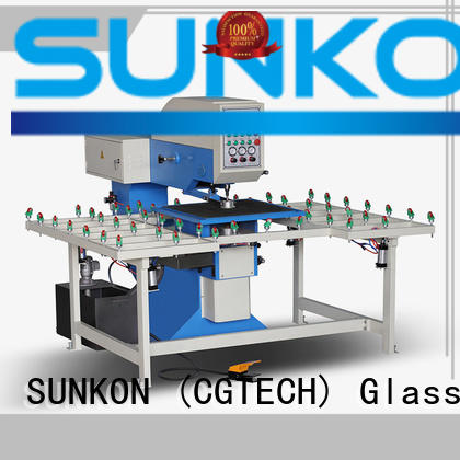 SUNKON quality automatic drilling equipment glass for commercial