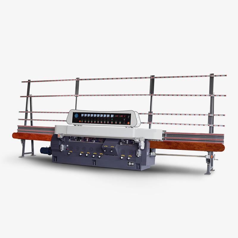 CGZ9325D 9 Motors Glass Straight Line Vertical Edging Machine with Digital Display