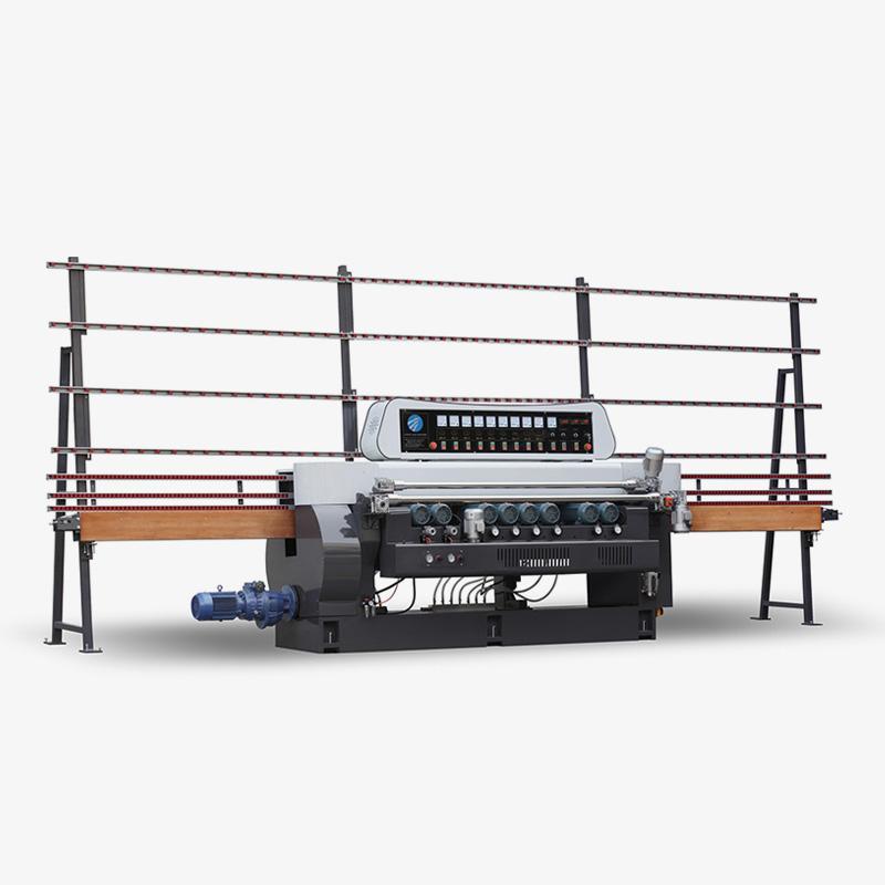 CGX261D 9 Motors Glass Straight Line Beveling Machine with Digital display