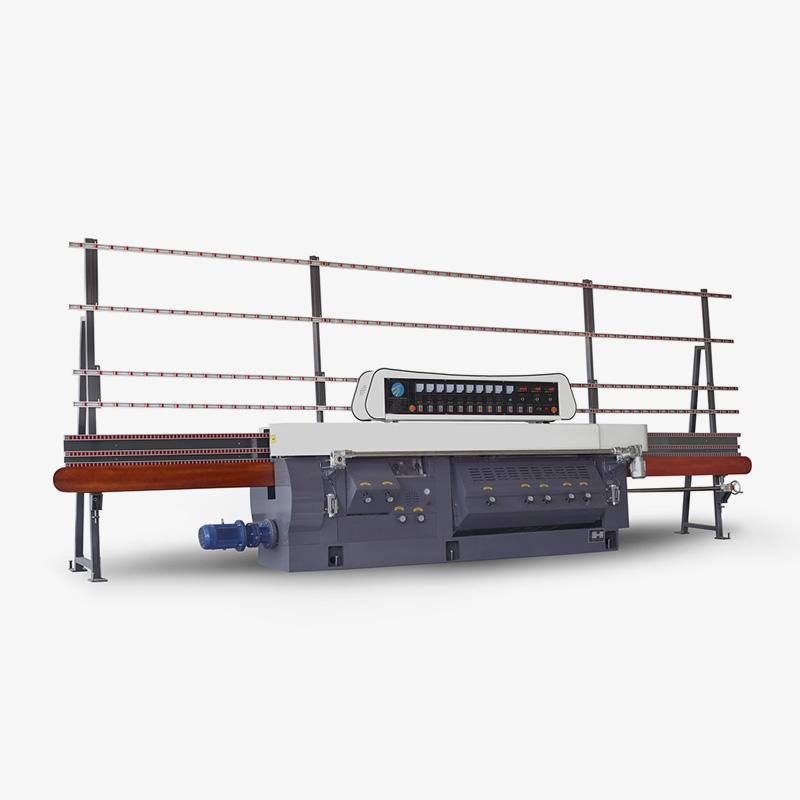CGZ9325D-45° 9 Motors Glass Mitering Edging Machine