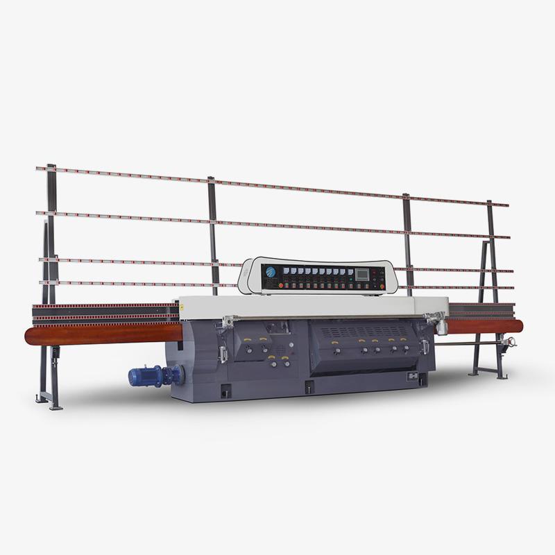CGZ9325P-45° 9 Motors Glass Flat Edge & Variable Miters Edging Machine