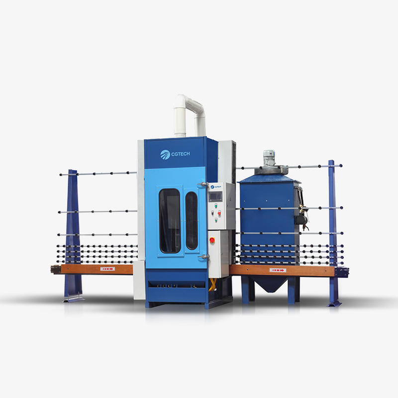 Cgps-2500p Auto-Glass Sandblasting Machine