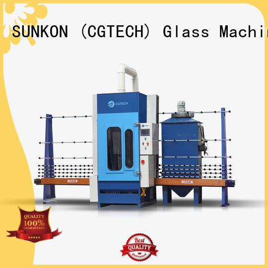 autoglass sandblasting machine SUNKON automatic sandblasting machine manufacturers