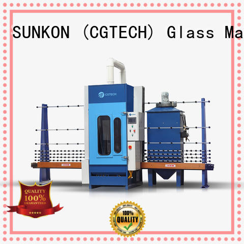 cgps2000 glass sandblasting equipment customized for commercial