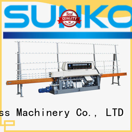 Custom display straight line edger line glass straight line beveling machine