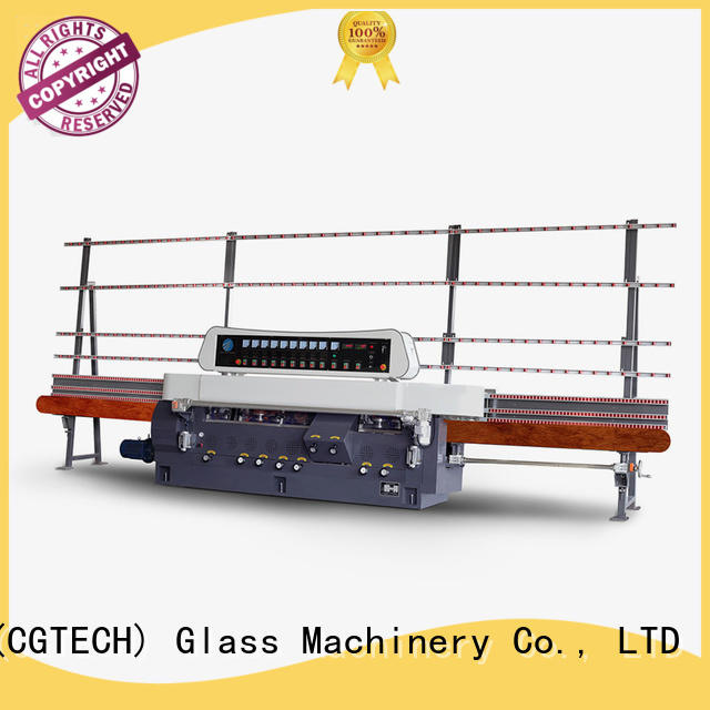 model display edging digital SUNKON glass straight line beveling machine