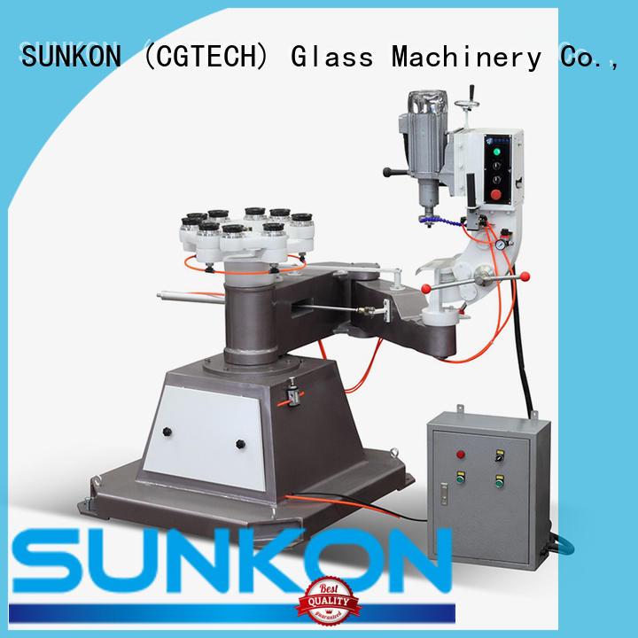 SUNKON sturdy glass grinding machine design for plant