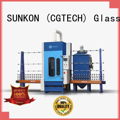sandblasting machine autoglass automatic glass sandblasting machine SUNKON
