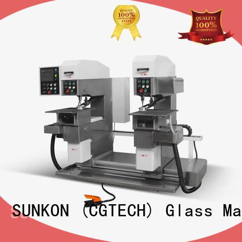 machine configuration standard drilling SUNKON Brand glass drilling machine supplier