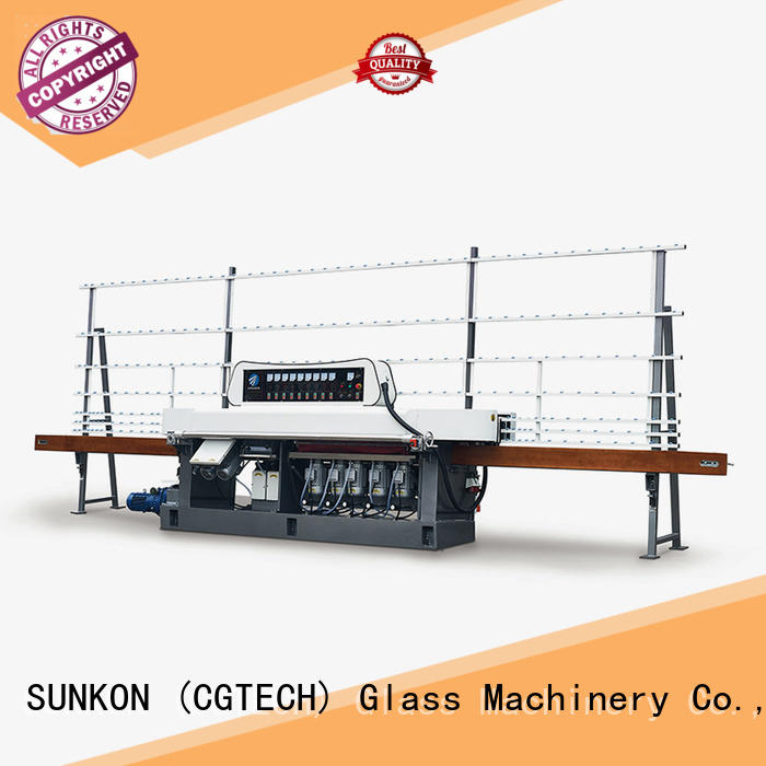 machine glass SUNKON glass edge polishing machine