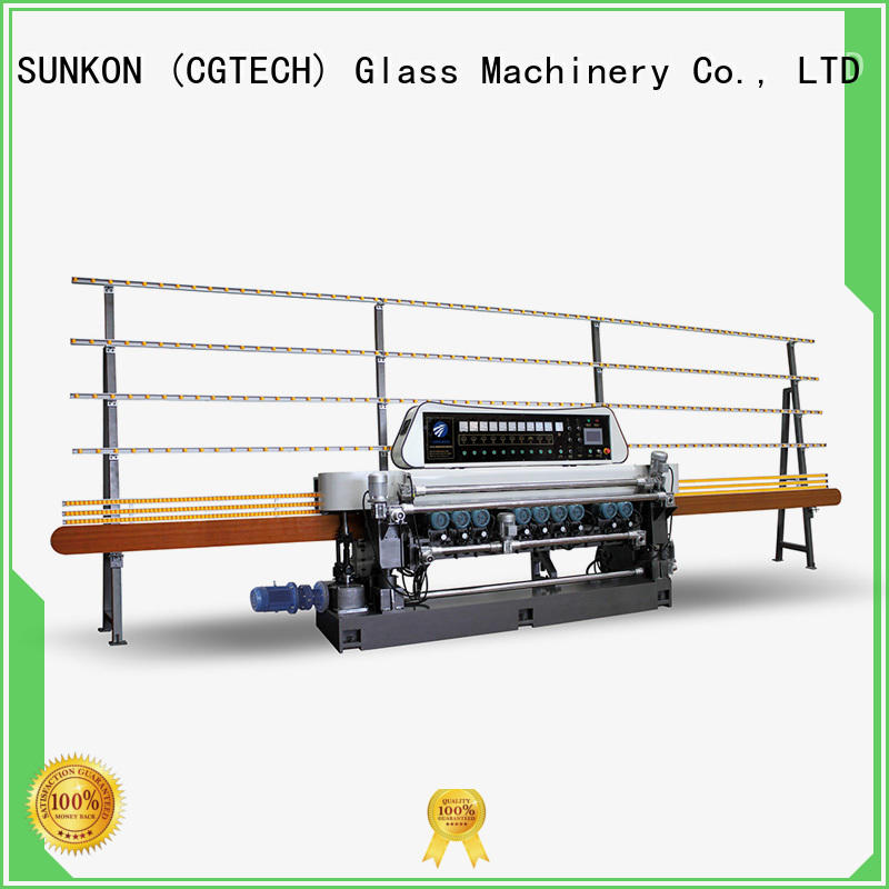 display glass bevelling machine suppliers function for commercial SUNKON
