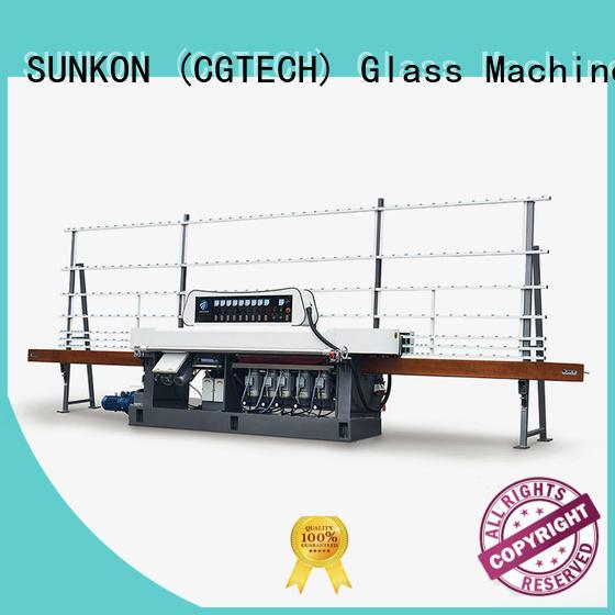 SUNKON glass edge polishing machine machine motors flat