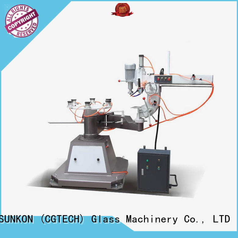 SUNKON Shaped glass polisher design for commercial