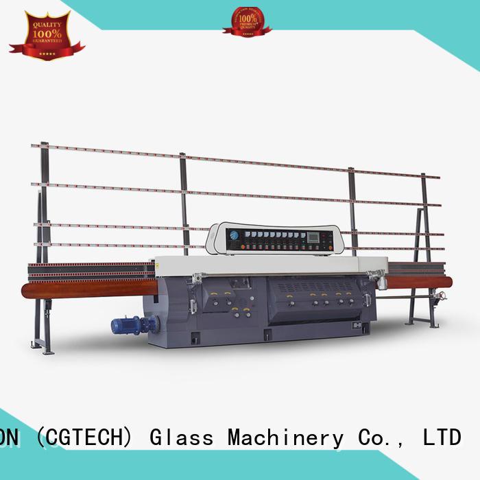 glass edge polishing machine edge flat mitering machine