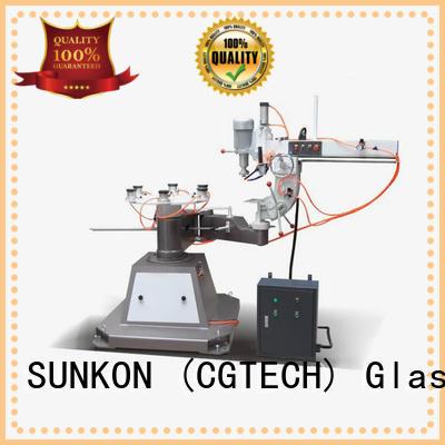 SUNKON Brand shape outer custom glass grinding machine price