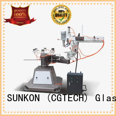 SUNKON Brand shape outer custom glass grinding machine price