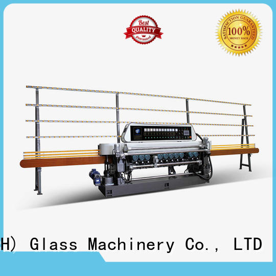 glass beveling machine for sale function straight bevelled edger      glass beveling machine SUNKON Brand
