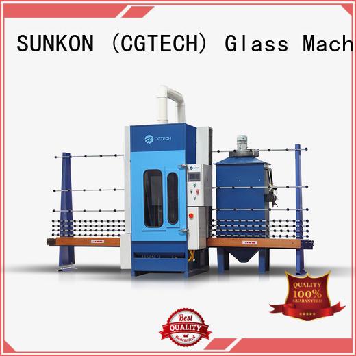 autoglass machine sandblasting sandblasting SUNKON automatic glass sandblasting machine