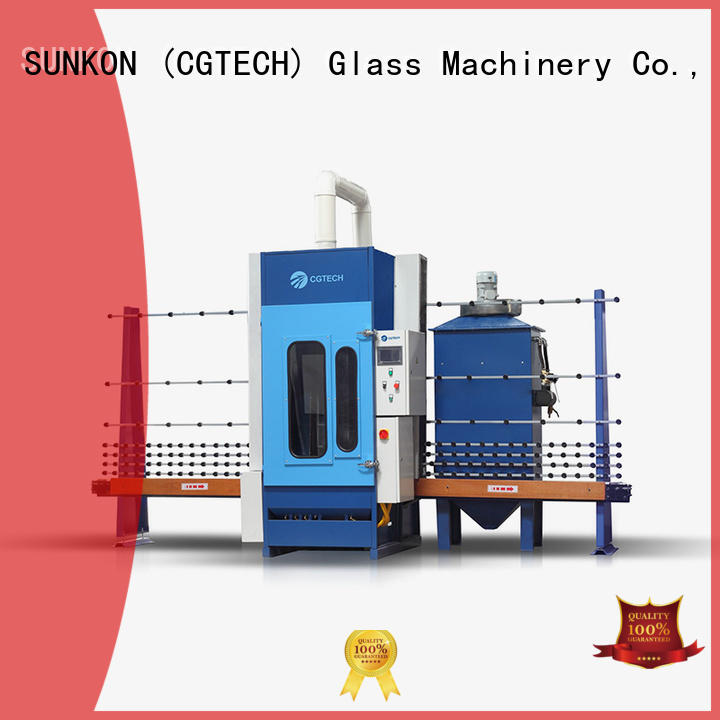 sandblasting machine autoglass SUNKON automatic sandblasting machine manufacturers