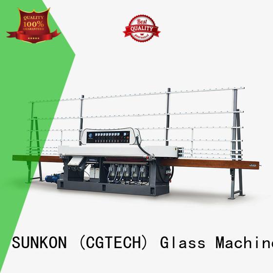 SUNKON glass edge polishing machine machine mitering edging miters