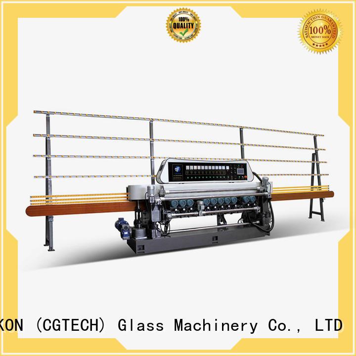 glass beveling machine for sale manual plc beveling lifting SUNKON