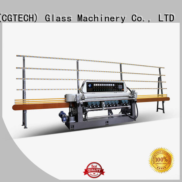 SUNKON manual straight bevelled edger      glass beveling machine motors digital