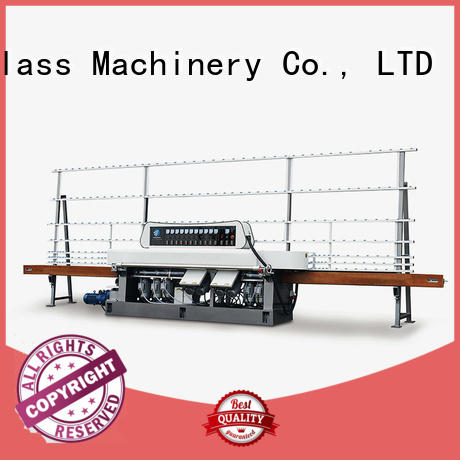 OEM glass straight line beveling machine motors machine vertical straight line edger