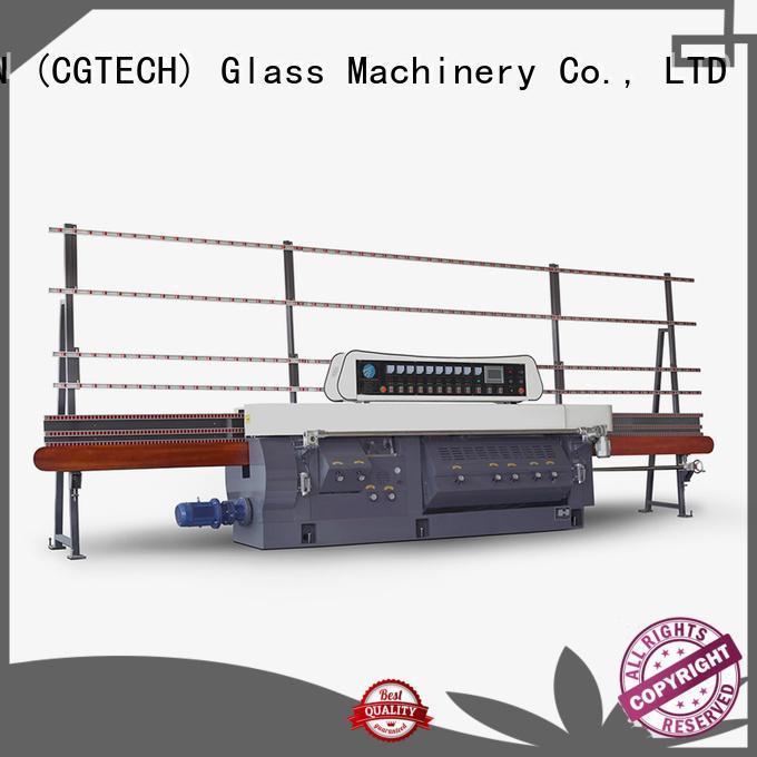 SUNKON Brand machine variable glass edge polishing machine glass edging