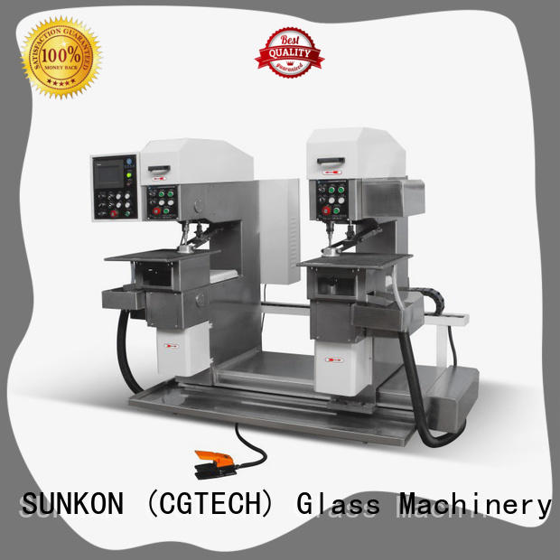 standard glass drilling machine from China for industry