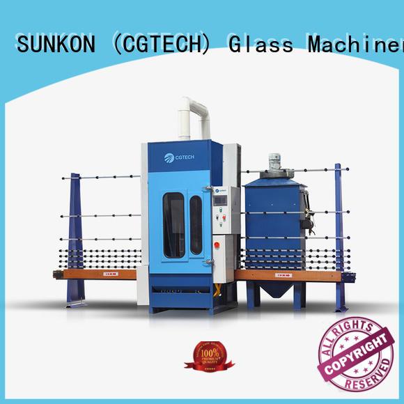 SUNKON machine glass sandblasting equipment from China for commercial