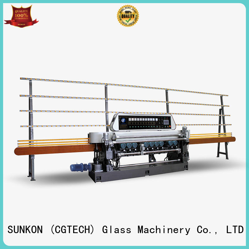 manual display SUNKON glass beveling machine for sale