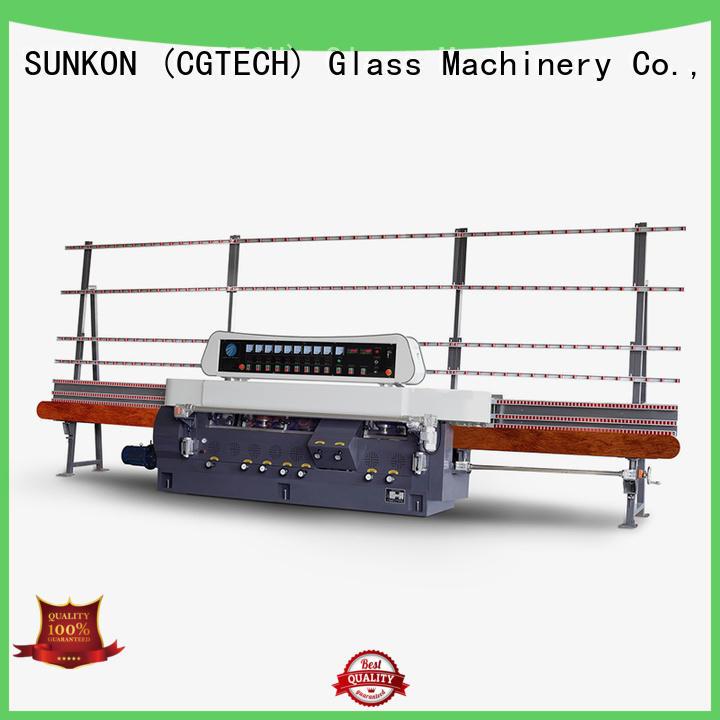 OEM glass straight line beveling machine glass control model straight line edger