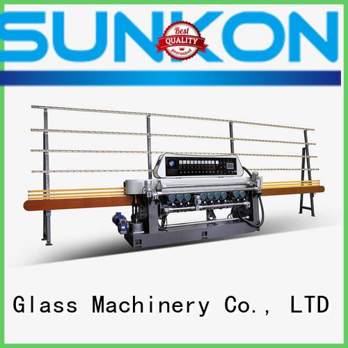 glass beveling machine for sale plc control digital manual