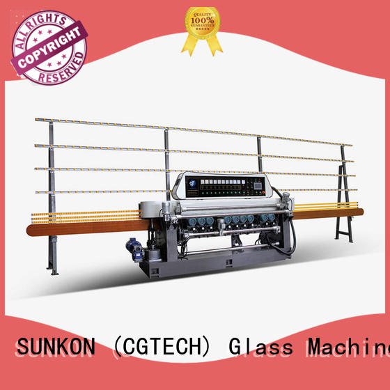 glass beveling machine for sale display machine function straight SUNKON