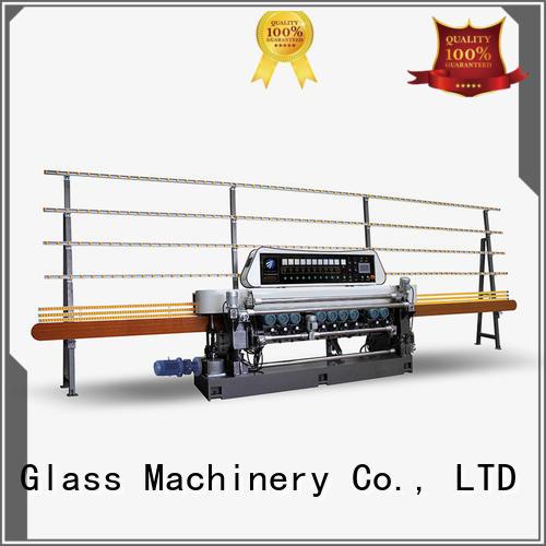SUNKON glass beveling machine for sale straight manual digital lifting