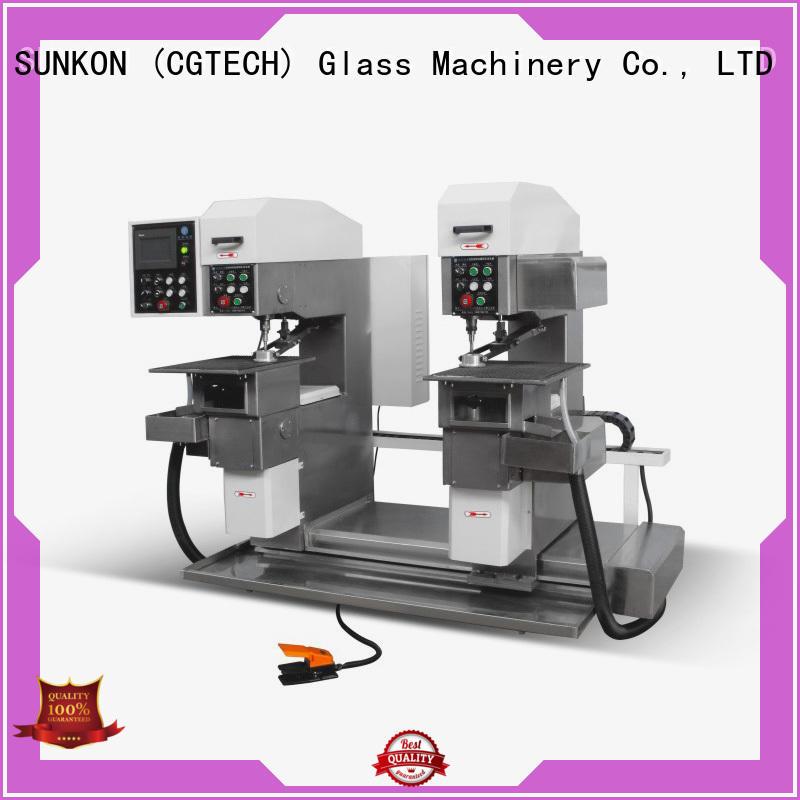 drilling configuration machine SUNKON drilling glass