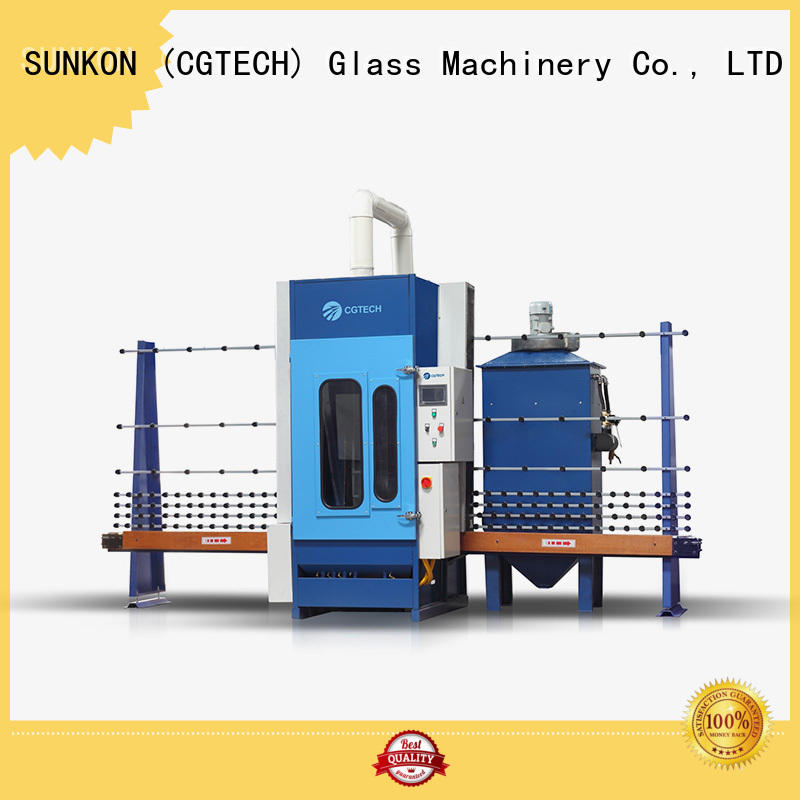 quality sand frosting machine autoglass directly sale for industry