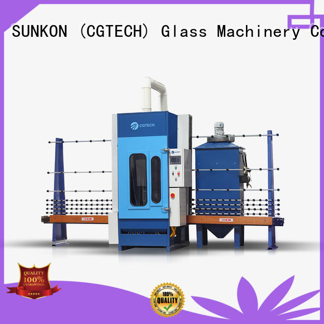 cgps2500p automatic glass sandblasting machine customized for commercial SUNKON