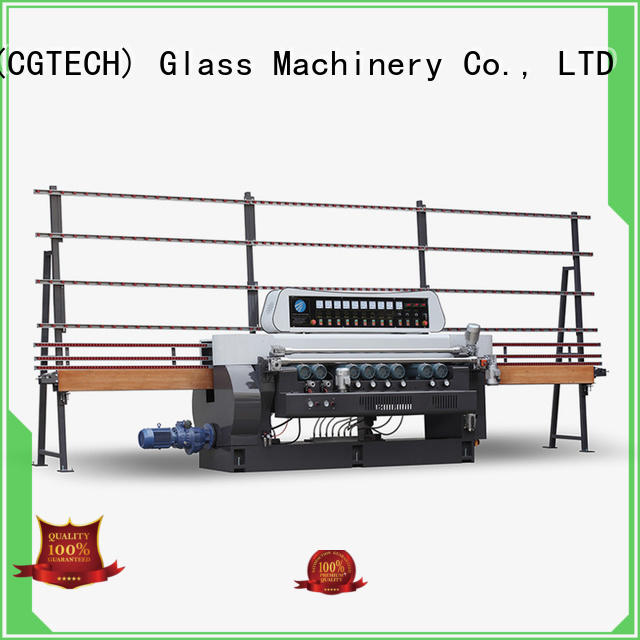 SUNKON quality glass beveling equipment design for plant