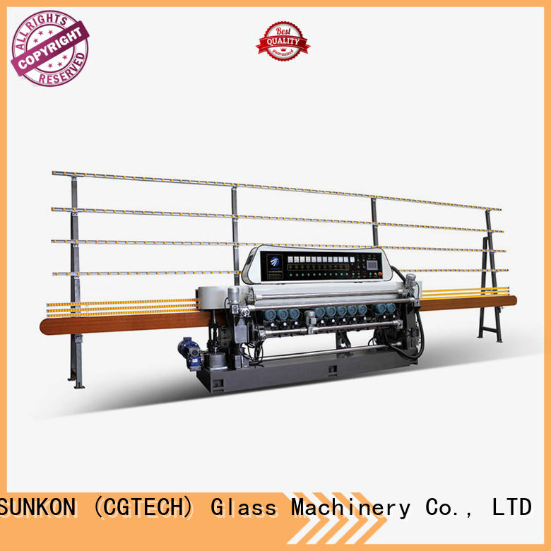 SUNKON glass beveling machine for sale machine glass digital