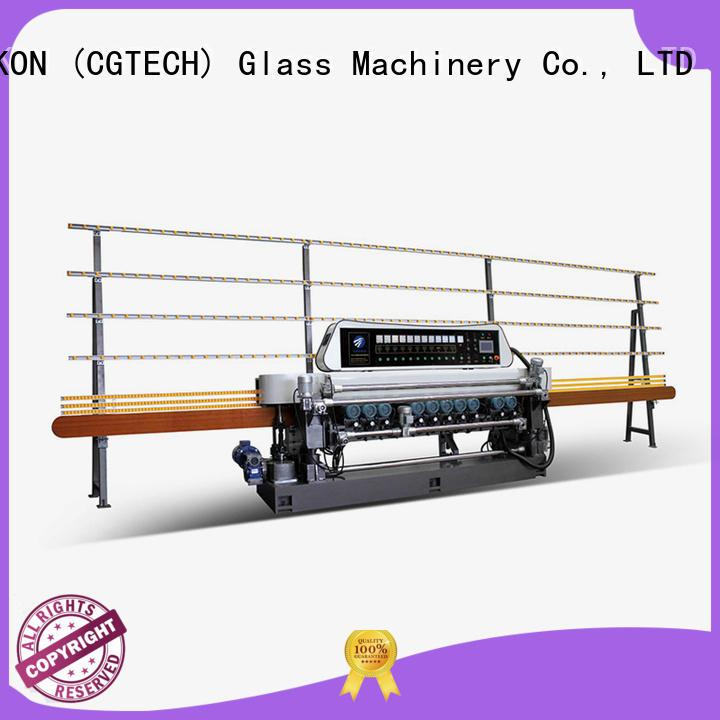 line plc control glass beveling machine for sale SUNKON