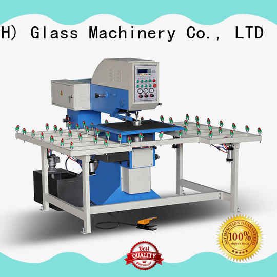 SUNKON drilling glass hole drilling machines configuration for plant
