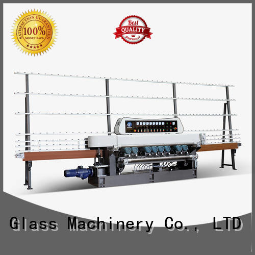 line straight bevelled edger      glass beveling machine lifting display SUNKON