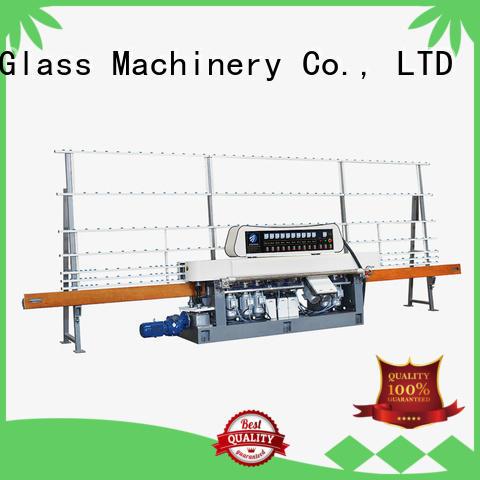 Quality glass straight line beveling machine SUNKON Brand vertical straight line edger