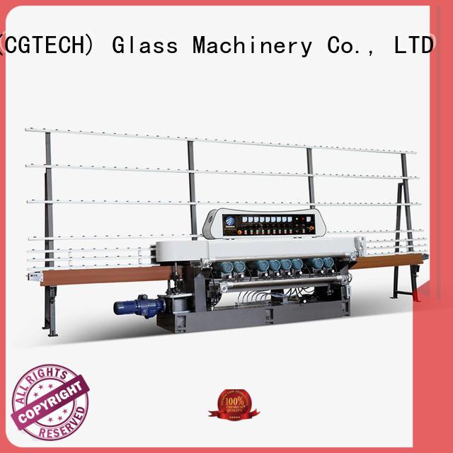 SUNKON Brand plc digital machine glass beveling machine for sale