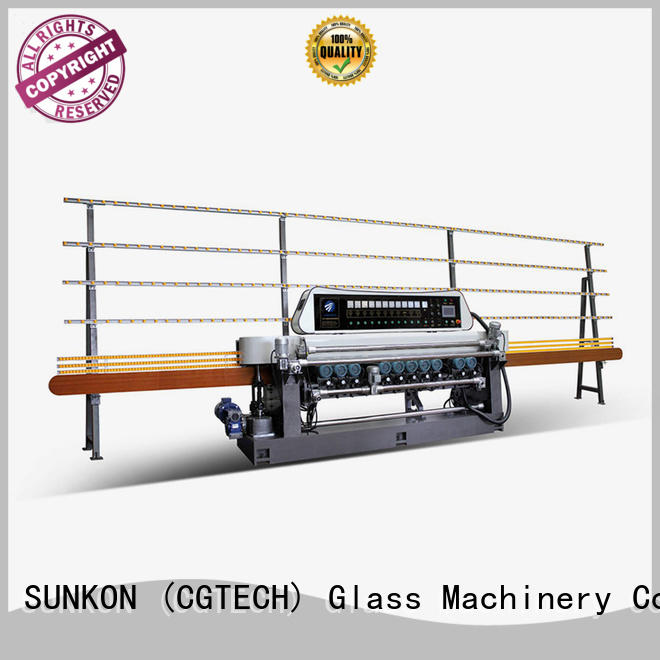 machine function glass beveling machine for sale SUNKON